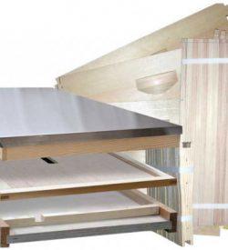 Unassembled Beehive Kit